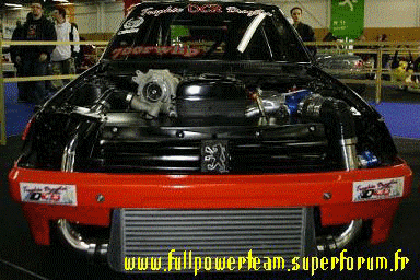 La b�te de run expos� au Paris Tuning Show 2007