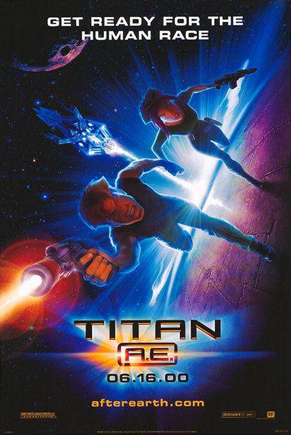 Titan A.E. affiche