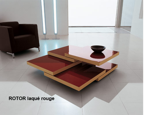 Table basse rotor chez bellato for Table de salon chez fly