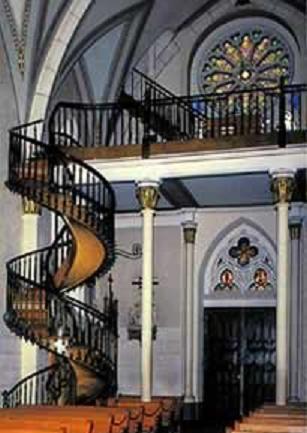 l escalier miraculeux de la chapelle st joseph de santa f 233