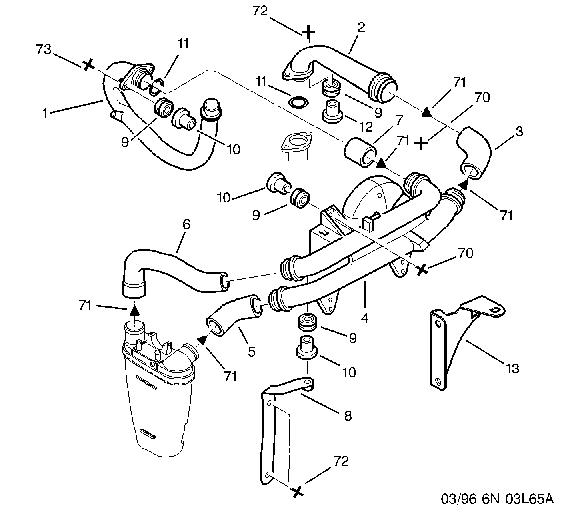 1996 chevy blazer vacuum diagram