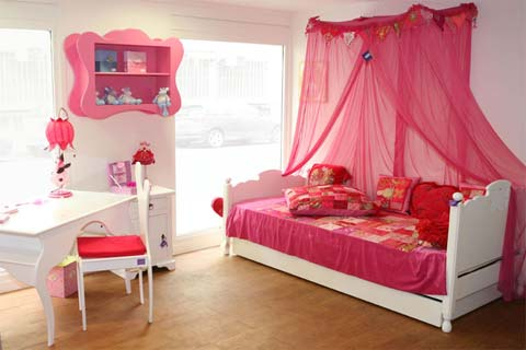 conseil d co chambre petite fille. Black Bedroom Furniture Sets. Home Design Ideas