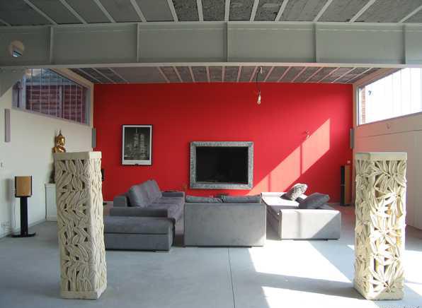 ... Salon Avec Carrelage Gris Cool Decoration Carrelage   Carrelage Gris  Clair Quelle Couleur Pour Les Murs ...