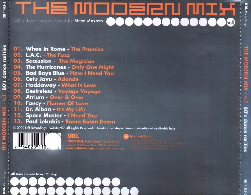 The Modern Mix 1 - 80s Dance Rarities