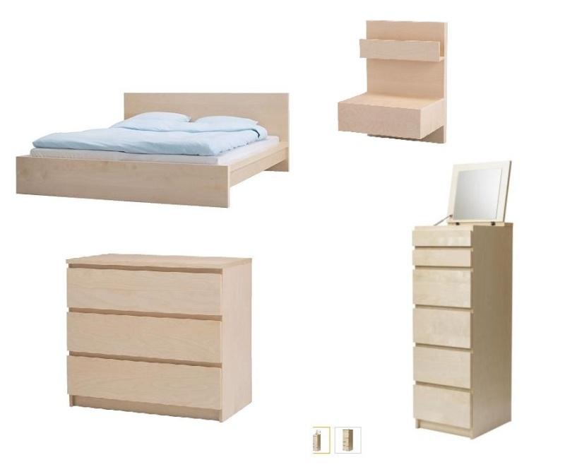 Conseils d co une chambre couleur mer for Ikea meuble de chambre