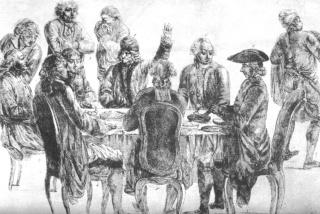 au 18ème siècle déjà