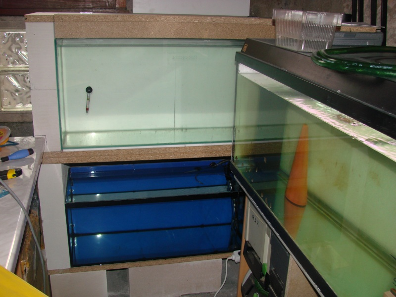 construction d 39 une colonne d 39 aquarium. Black Bedroom Furniture Sets. Home Design Ideas