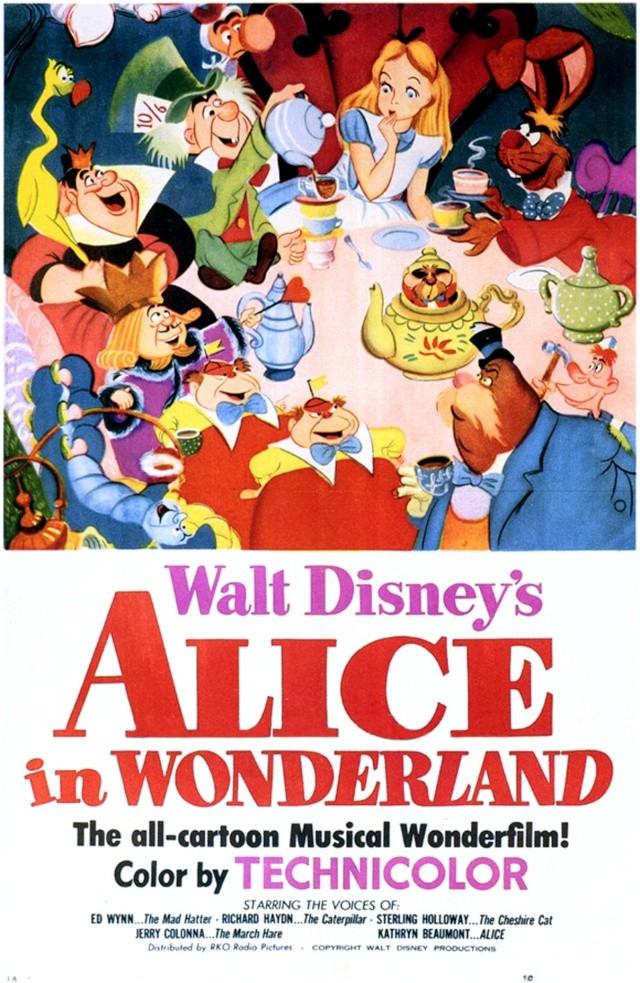 Walt Disney Alice Au Pays Des Merveilles 1951