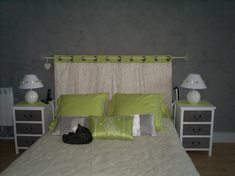 tete de lit d coration forum vie pratique. Black Bedroom Furniture Sets. Home Design Ideas