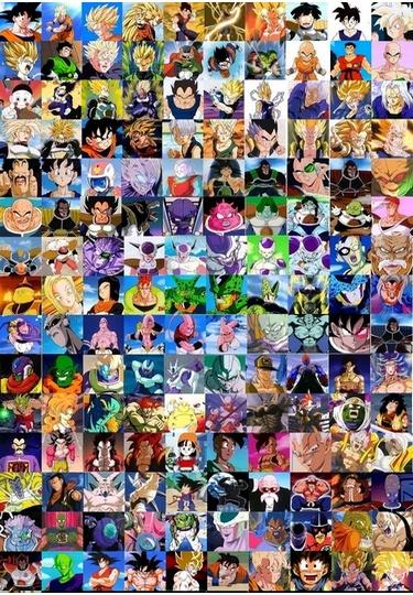 Liste personnages dbz - Tout les image de dragon ball z ...
