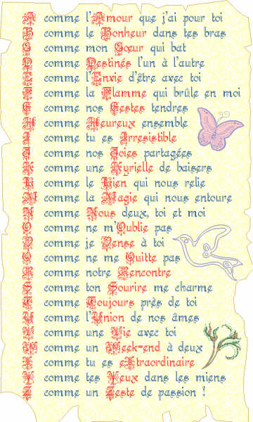 Liste alphabétique des adolescents d'ébène pour