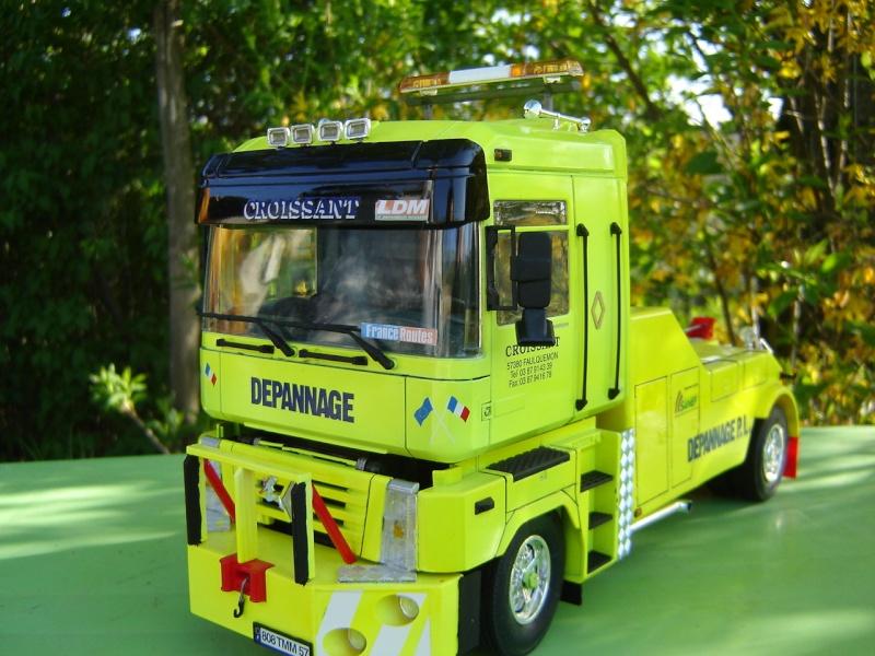 maquette camion renault magnum 1 24. Black Bedroom Furniture Sets. Home Design Ideas