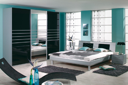 conseils d co une chambre couleur mer. Black Bedroom Furniture Sets. Home Design Ideas