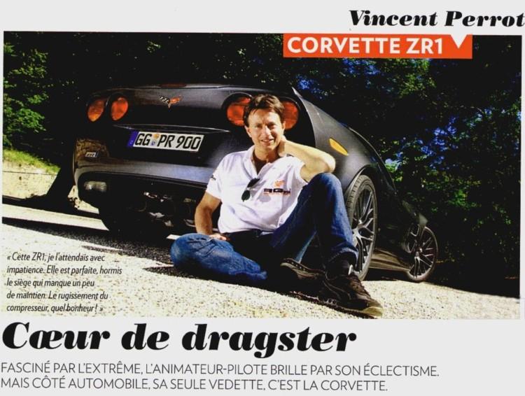 Vincent Perrot et sa ZR1