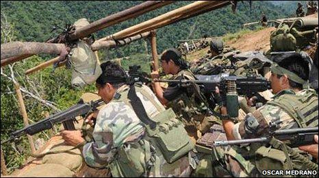 Militar peruano falleció en emboscada terrorista