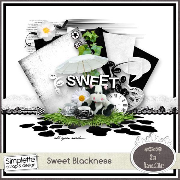 sweet blackness simplette mini kit