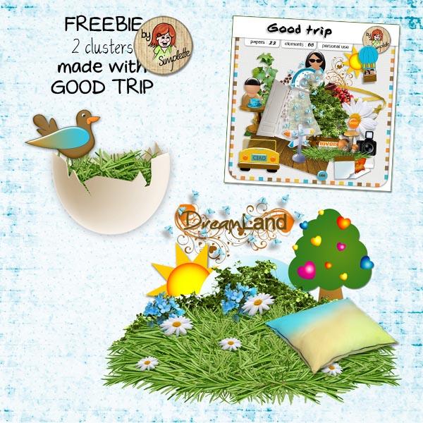 simplette good trip freebie gratuit