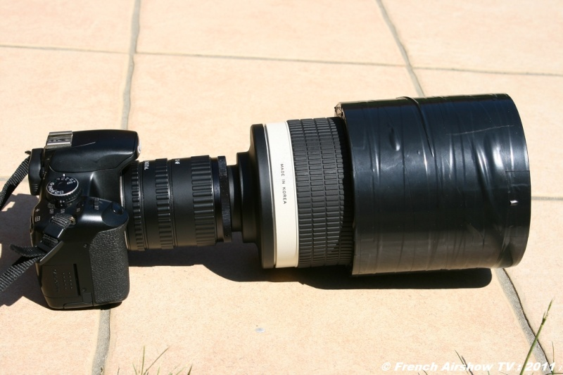 Test Samyang Objectif fixe 800 mm miroir F/8