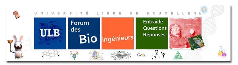 Forum des Bioing�nieurs de l'ULB