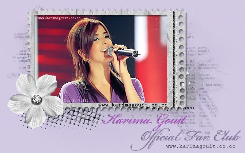 Karima Gouit Official Fan Club