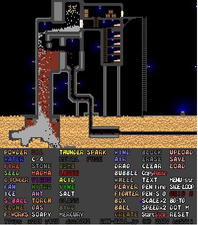 Powder game 2