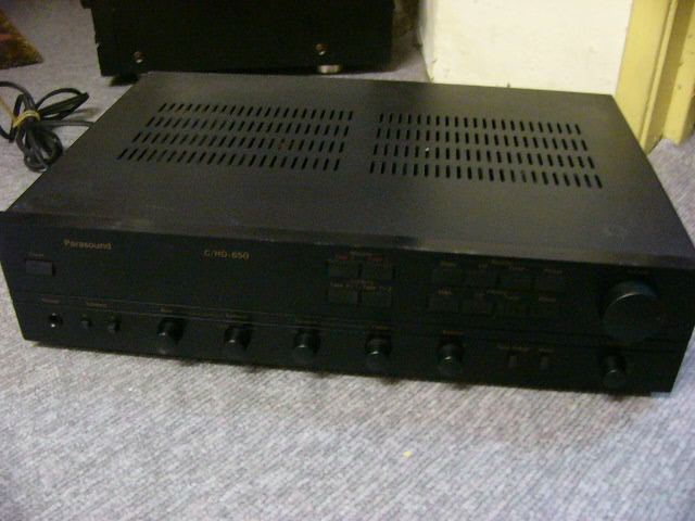 Parasound C Hd 650 Integrated Amp Used Sold