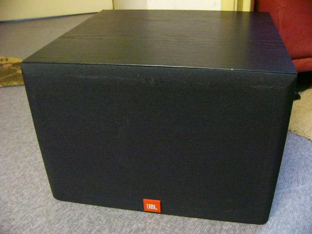 jbl digital 10 active subwoofer used sold. Black Bedroom Furniture Sets. Home Design Ideas