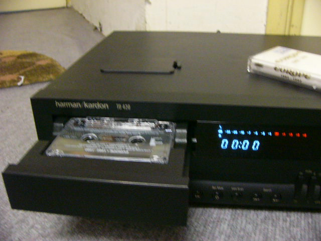 Harman Kardon Td 420 Cassette Deck Used Sold