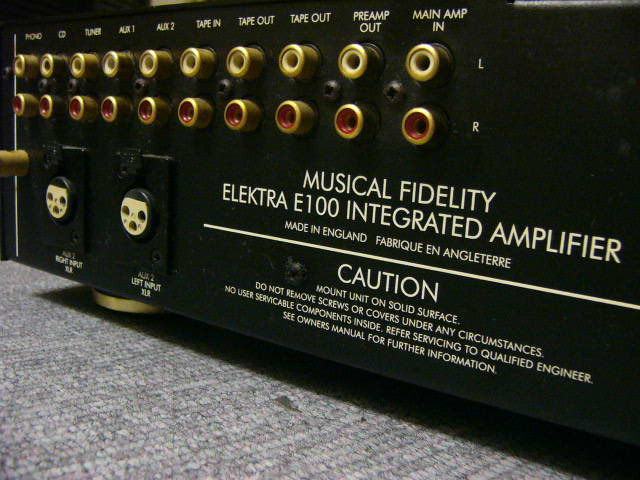 Musical Fidelity Elektra E100 Used Sold