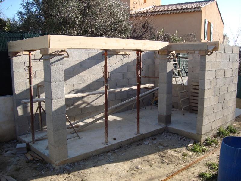 Voliere exterieure en construction for Oiseaux pour voliere exterieure