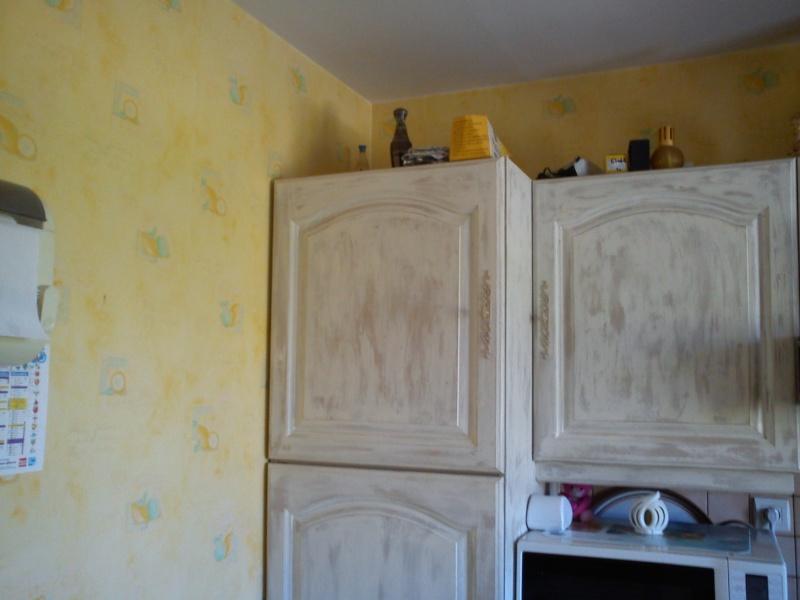 Id e couleur pour mur de cuisine chanchan for Meuble cuisine repeint