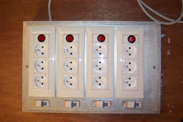 Recifal france tableau electrique le coin des bricoleurs - Rampe electrique pour cuisine ...