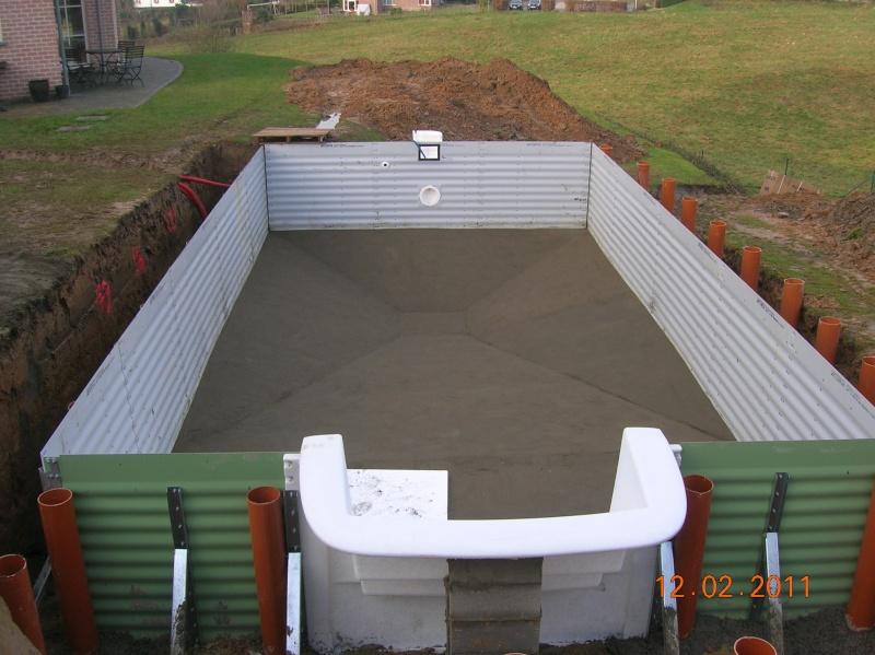 Carla 8mx4m avec escalier cubic coverseal wat belgique ca - Montage d une piscine waterair ...