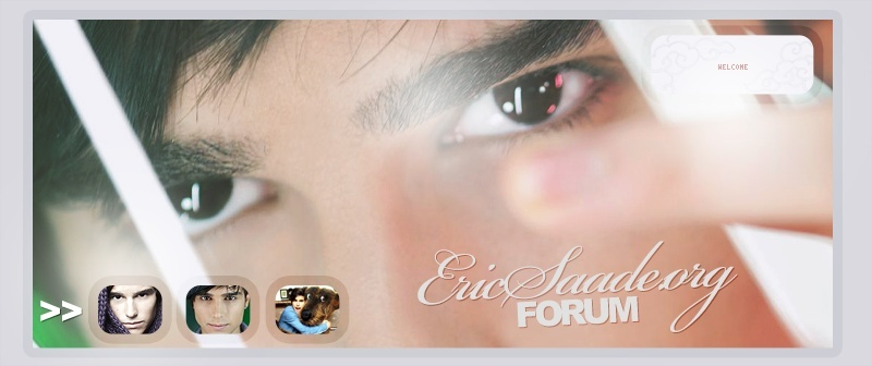 Eric Saade Fan Forum | A Part of EricSaade.org