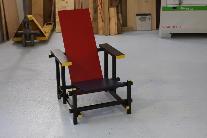 gerrit thomas rietveld chaise 280 zig zag copain des copeaux. Black Bedroom Furniture Sets. Home Design Ideas