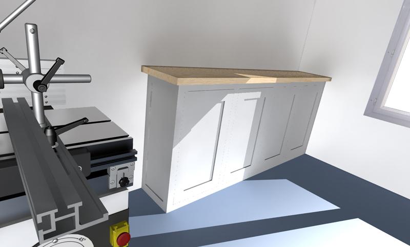 Meuble de rangement pour atelier - Fabriquer un meuble de rangement ...