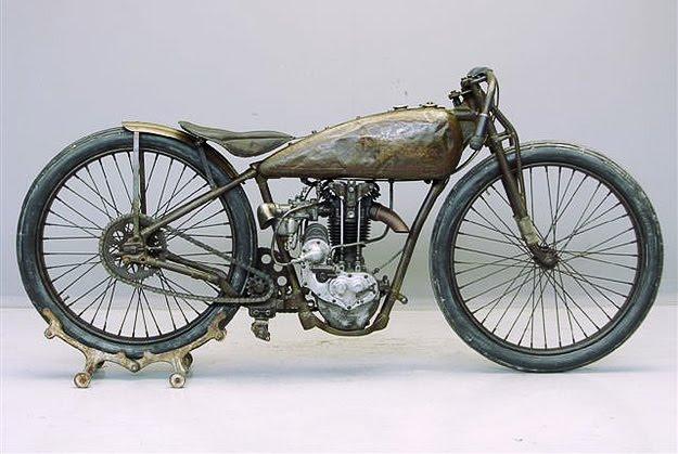 Rare 1928 Harley Model Ba Peashooter Single 350cc: 21.35ci (350 Cc